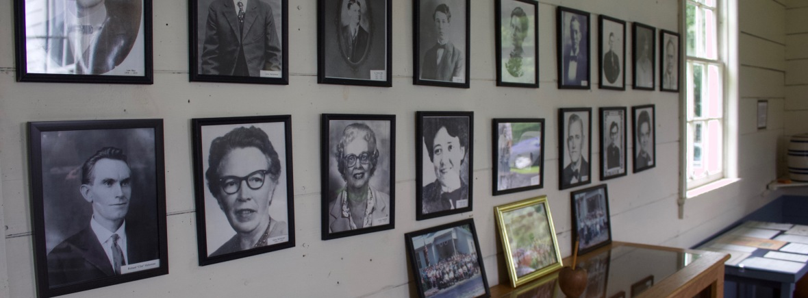 Wall of Former Teachers